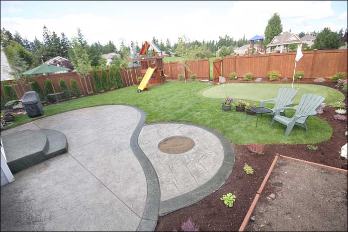 Concrete Patio Designs Bellevue WA