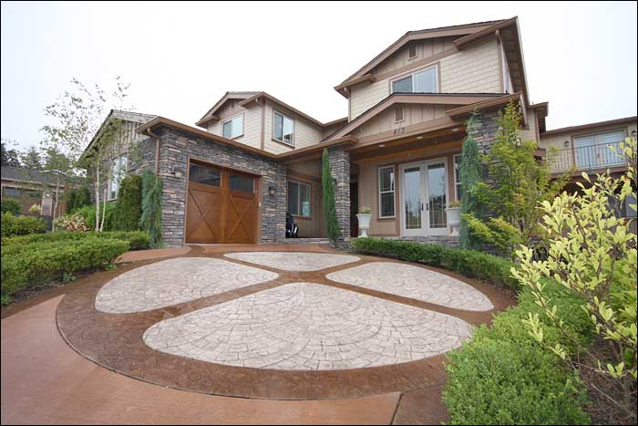 Concrete Patio Designs Issaquah WA